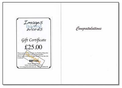 Gift Card and Cert