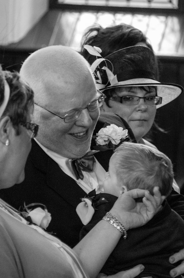 Eye Contact - Why I love this picture ... Grandpa I love you.